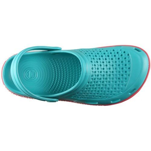 Медицинская обувь Сабо COQUI бирюза/розовый № 6359