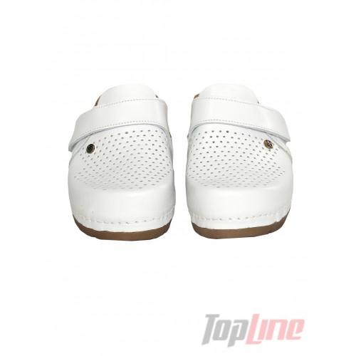 Сабо Leon 1001 Белые