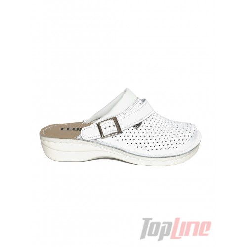 Сабо Leon V202 Белые