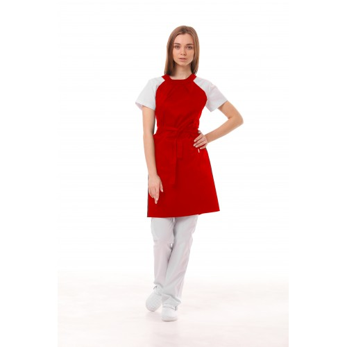 Фартук Модена женский Красный