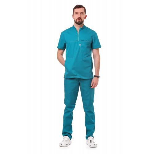 Медицинский костюм Рим Морская волна