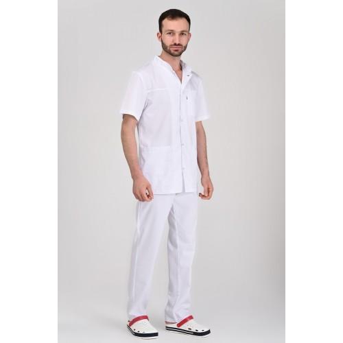 Медицинский костюм Берлин белый