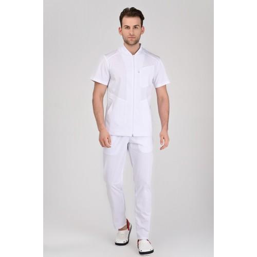 Медицинский костюм Бристоль Белый