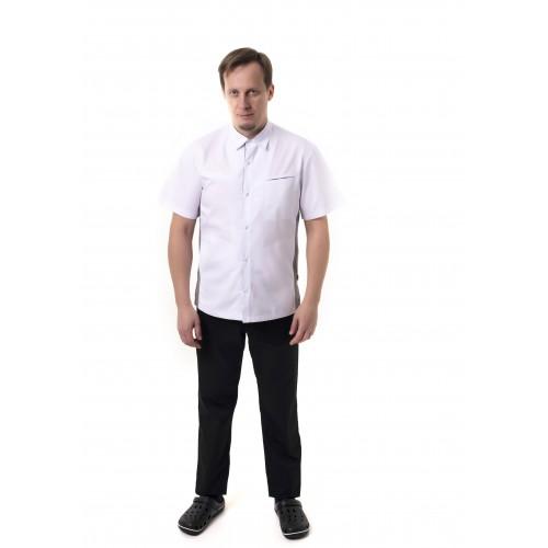 Медицинский костюм Гамбург Белый-черный