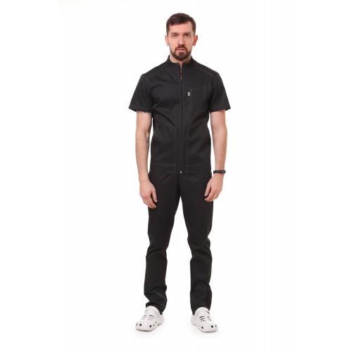 Медицинский костюм Бристоль Черный