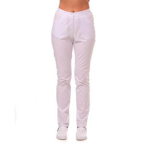 Медицинские штаны Даллас Белые