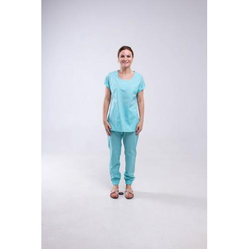 Медицинский костюм Парма -мятный