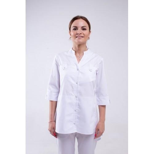 Медицинская куртка Невада - белый