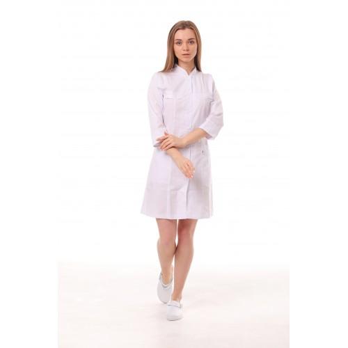 Медицинский халат женский Пекин белый