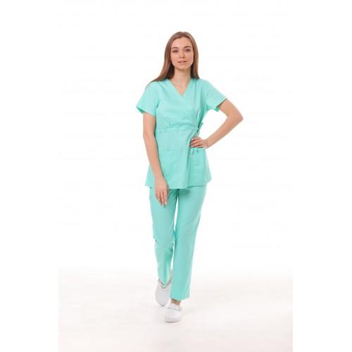 Медицинский костюм Манила Мятный