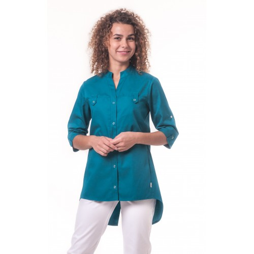 Медицинская куртка Невада - Морская волна