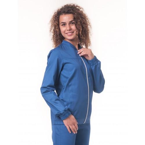Медицинская куртка Чикаго Синий