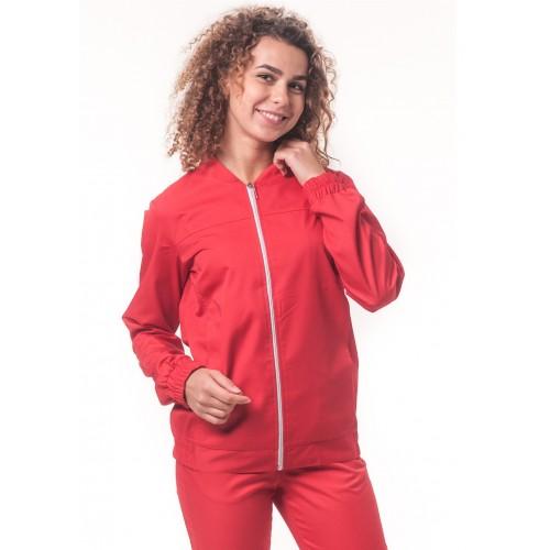 Медицинская куртка Чикаго Красный