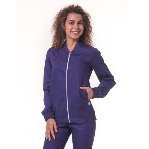 Медицинская куртка Чикаго Темно/фиолетовый