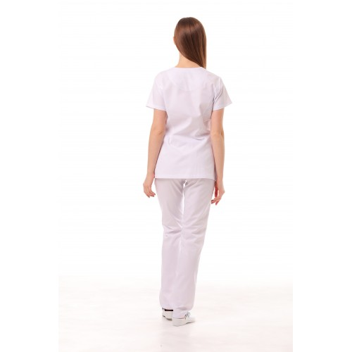 Медицинский костюм Флорида Белый