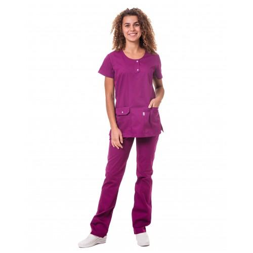 Медицинский костюм Флорида Фуксия