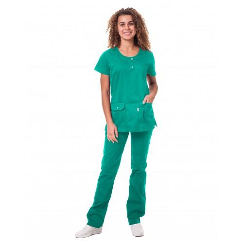 Медицинский костюм Флорида Мятный