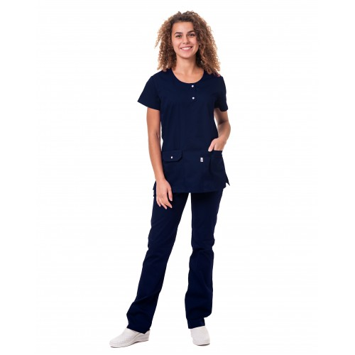 Медицинский костюм Флорида Темно/синий