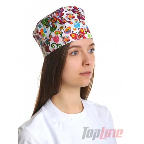 Медицинская шапочка принт №15