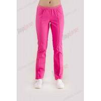 Медицинские штаны без карманов Розовый