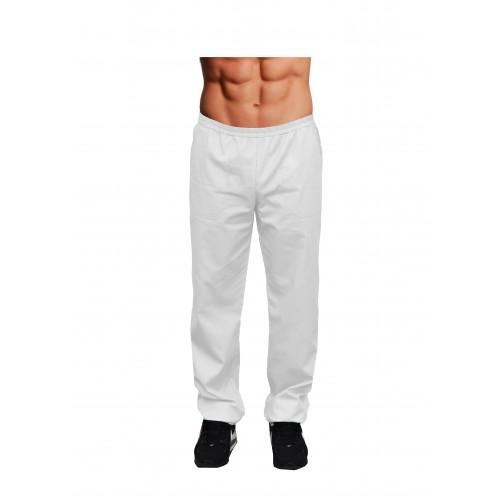 Медицинские штаны мужские Белый