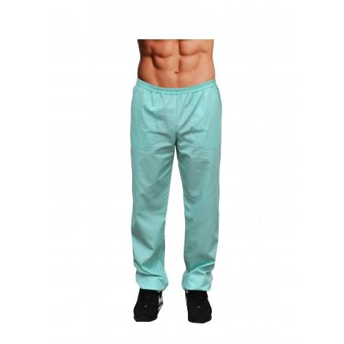 Медицинские штаны мужские Мятный