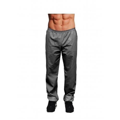 Медицинские штаны мужские Темно/серый